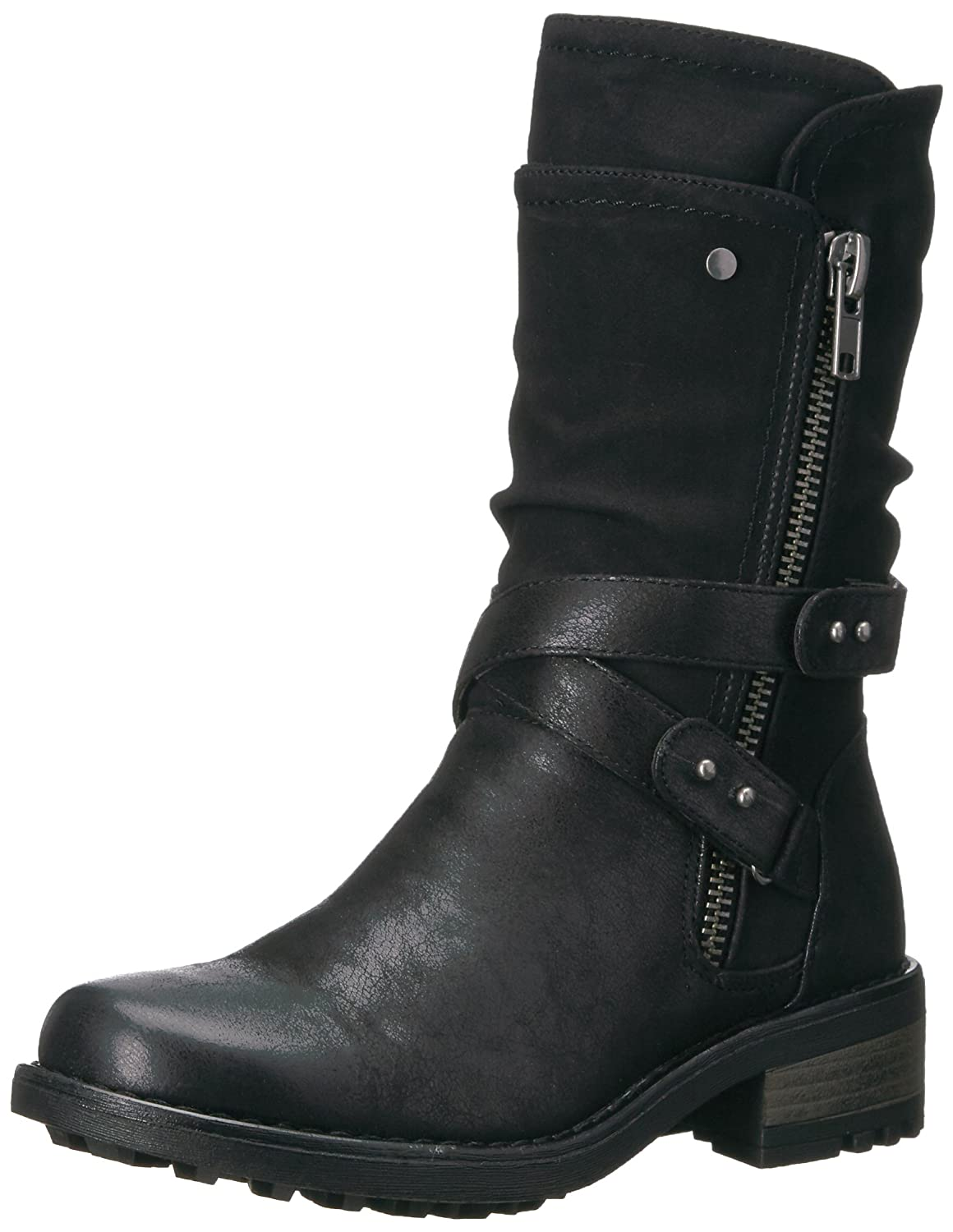 Carlos by Carlos Santana Women's Sawyer Fashion Boot B06XJCWFRS 8.5 M M US|Black
