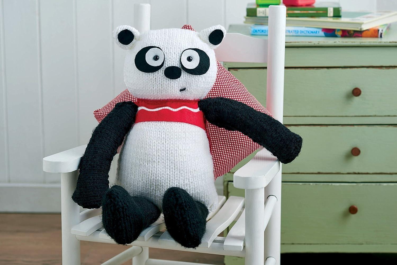 Big Panda Teddy Bear Knitting Kit
