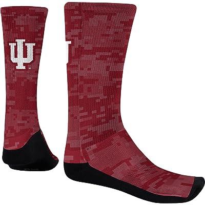 Spectrum Sublimation Men's Indiana University Digital Sublimated Socks