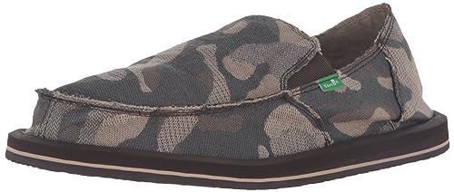 fec5cebcac604 Sanuk Mens Vagabond Camo Slip-On Loafer: Amazon.ca: Shoes & Handbags