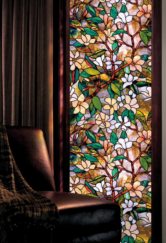 "Artscape 01-0113 Magnolia Window Film 24"" x 36"""