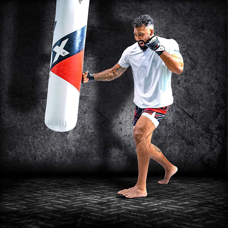 HIMACar Sac De Box Lourd Stable Kickboxing Sac De Frappe Professionnel Ultra R/éSistant Sacs De Frappe Lourds pour Adultes Enfants D/éButant Etc,120cm