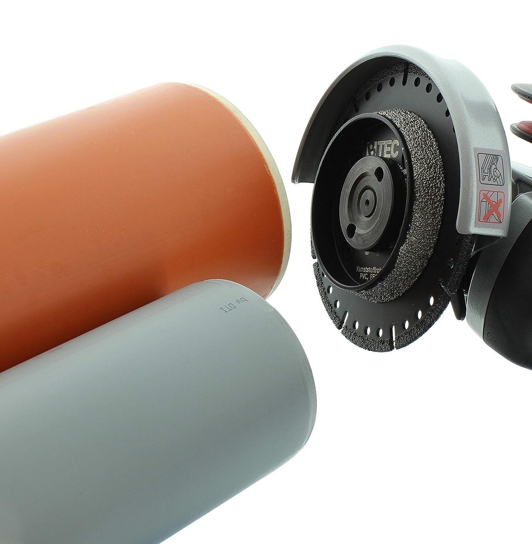 Gut bekannt KG-Rohr PVC-Rohr Anfasscheibe-Trennscheibe 125mm x 22,23mm BTEC KU67
