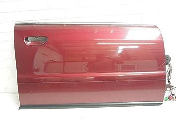 Audi A4 B5 FL OS puerta delantera derecha piel rojo Burgandy: Amazon.es: Coche y moto