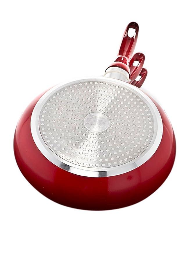 Compra Santa Clara Sartenes Cerámicas 3 Unidades color rojo en Amazon.es