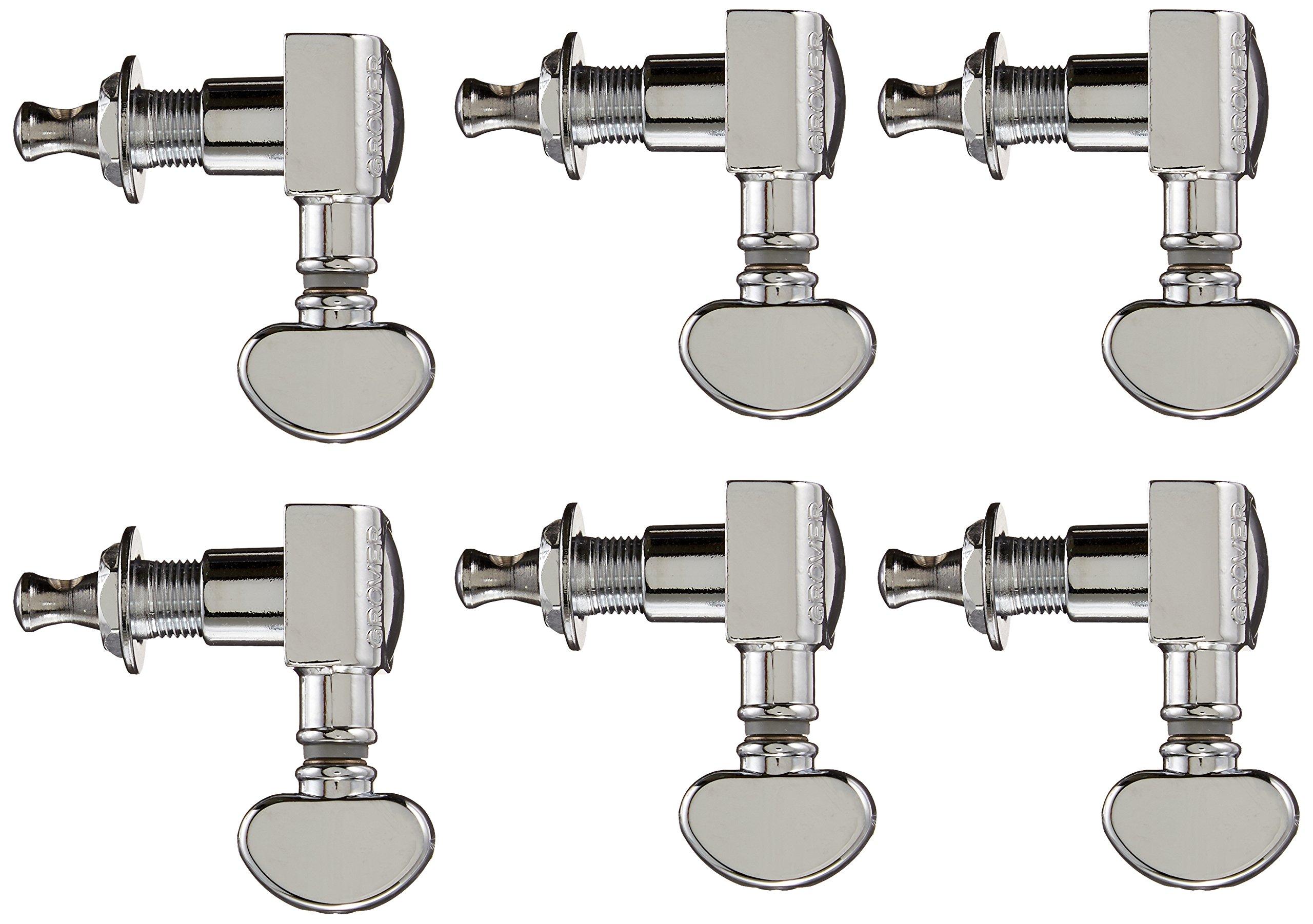 Grover 305C Midsize Rotomatic 18:1 Machine Heads, Chrome