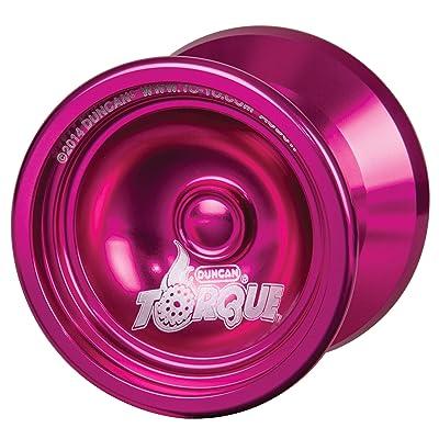 Duncan Toys Torque Yo-Yo [Pink], Unresponsive Pro Level Yo-Yo, Concave Bearing: Toys & Games