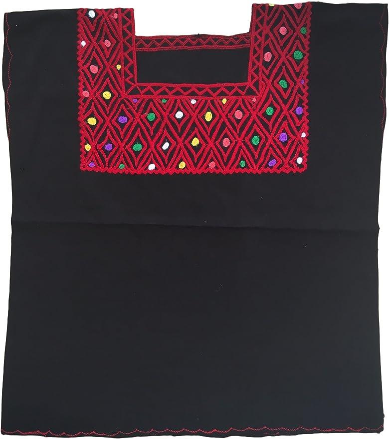 Amazon.com: Mexicano Blusa – bordado – Auténtico – Hecha a ...