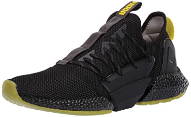 c0164ed809eb23 PUMA Men s Hybrid Rocket Runner Sneaker Asphalt Black-Blazing Yellow