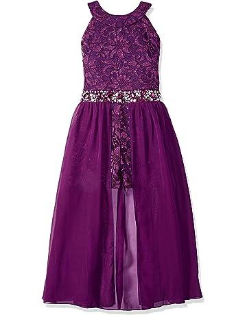 26be46e599a48b Speechless Girls  Big High Neck Maxi Romper Dress