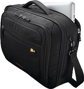 Case Logic 16-Inch Professional Laptop Briefcase (ZLC-216),Black