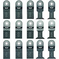 15 x TopsTools UNK15 mezcla omóplatos para Bosch