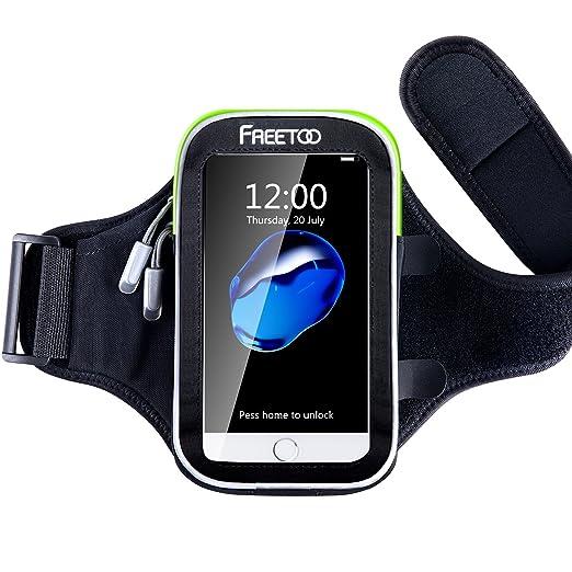 18 opinioni per FREETOO Fascia da braccio Sportiva per smartphone da 4,7 e 6 pollici Regolabile