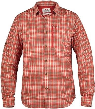 FJÄLLRÄVEN Abisko Hike LS Camisa, Hombre: Amazon.es: Ropa y accesorios