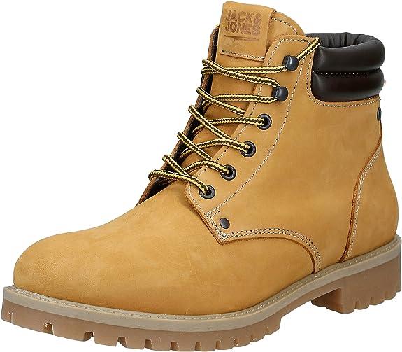 Jack & Jones Jfwstoke Nubuck Boot Honey Noos, Botas Clasicas para Hombre