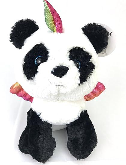 Amazon Com Cute Cuddly Pandacorn Plush Toy Panda Bear Unicorn