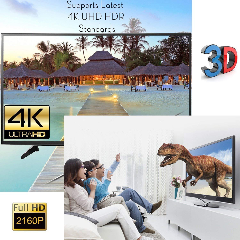 ELIUM Conmutador HDMI de 4 K I 5 Puertos HUB HDMI I Compatible con 4 K I Full HD1080p I con Mando a Distancia por Infrarrojos 5x1