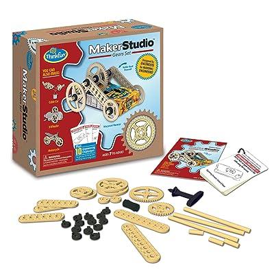 Think Fun Maker Studio - Gears Building Kit: Toys & Games