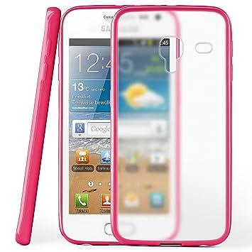 82dcd0dc8fd MoEx Funda Protectora OneFlow para Funda Samsung Galaxy Ace 2 Carcasa  Silicona TPU 1,5mm | Accesorios Cubierta protección móvil | Funda móvil  paragolpes ...