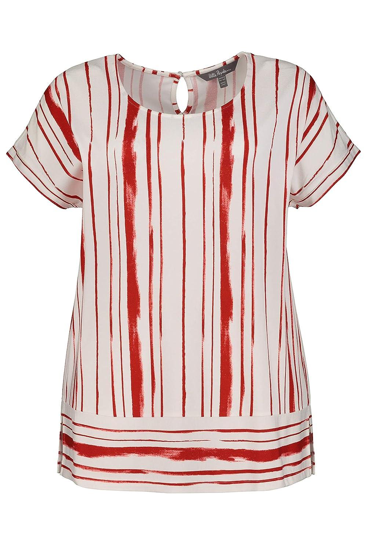 4179be5753 well-wreapped Ulla Popken Damen große Größen T-Shirt 724749 Apfelrot  WuGWYAjc