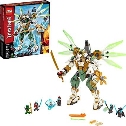 LEGO NINJAGO Lloyds Titan Mech 70676 Building Kit, New 2019 (876 Pieces)