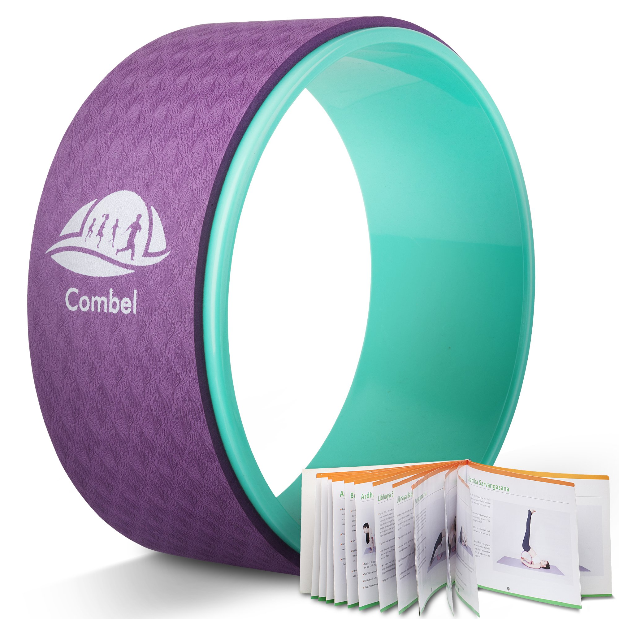 Combel Yoga Wheel-Strong & Comfortable Yoga Wheel, Superior Quality, Excellent Accessory for Stress and Pain Prevention.