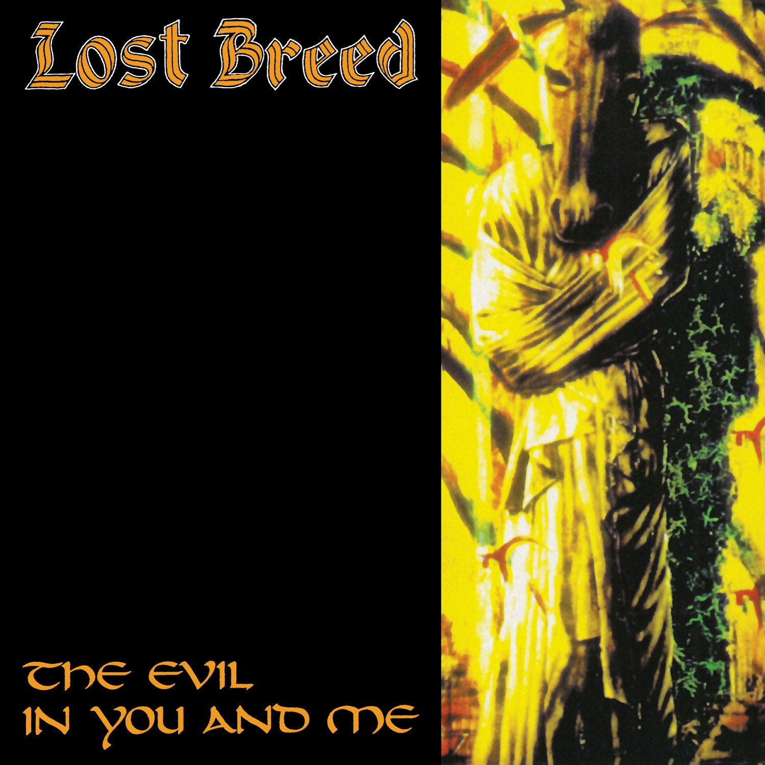 CD : Lost Breed - The Evil In You And Me (CD)