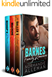 The Barnes Family Romances: (Books 1-3)
