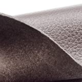 """Real Leather Crafting Sheet - 8.5"""" x 11"""" - Brown"""