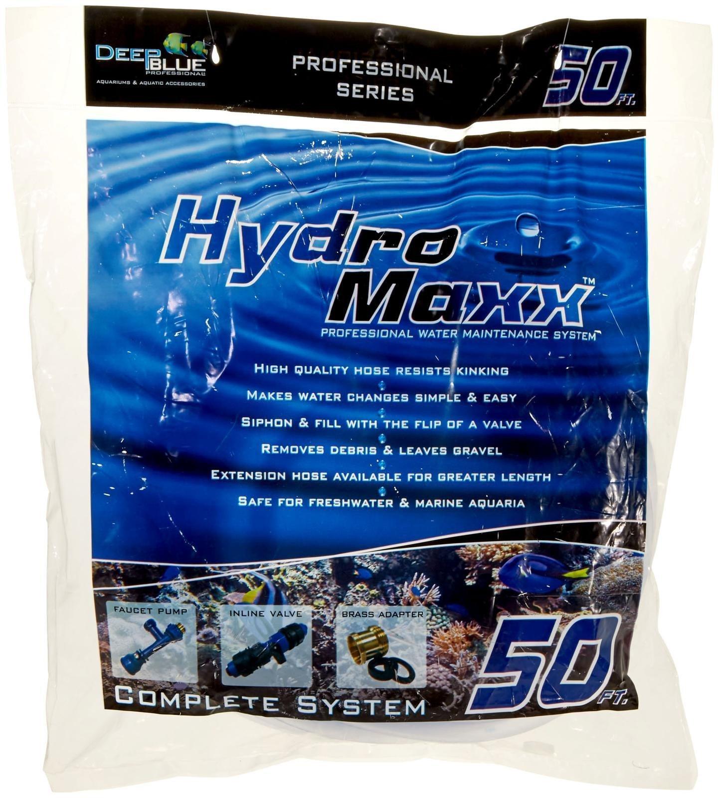 Deep Blue Professional ADB88850 Hydromaxx Water Changer for Aquarium, 50-Feet