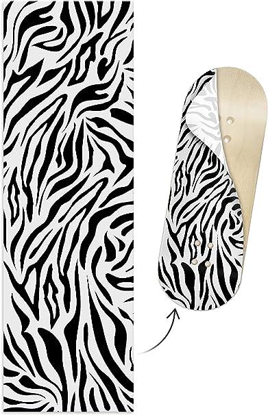 35mm Wide Leopard Print Colorway Teak Tuning Colorblock Fingerboard Deck Wrap Adhesive Wraps to Customize Your 32mm Fingerboard Deck Waterproof Vinyl 110mm Long