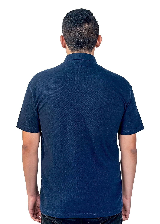f465645e60 Mercy Robes Mens Clergy Polo Short Sleeves TAB Shirt (Navy) at Amazon Men s  Clothing store