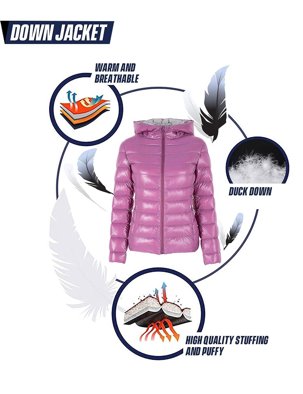 Puffer Skiing Outwear Zip Up Water Resistant Short Down Coat Elf Sack Womens Packable Ultra Light Weight Down Jacket