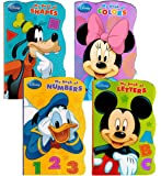 """Disney® Mickey Mouse """"My First Books"""" (Set of 4 Shaped Board Books)"""
