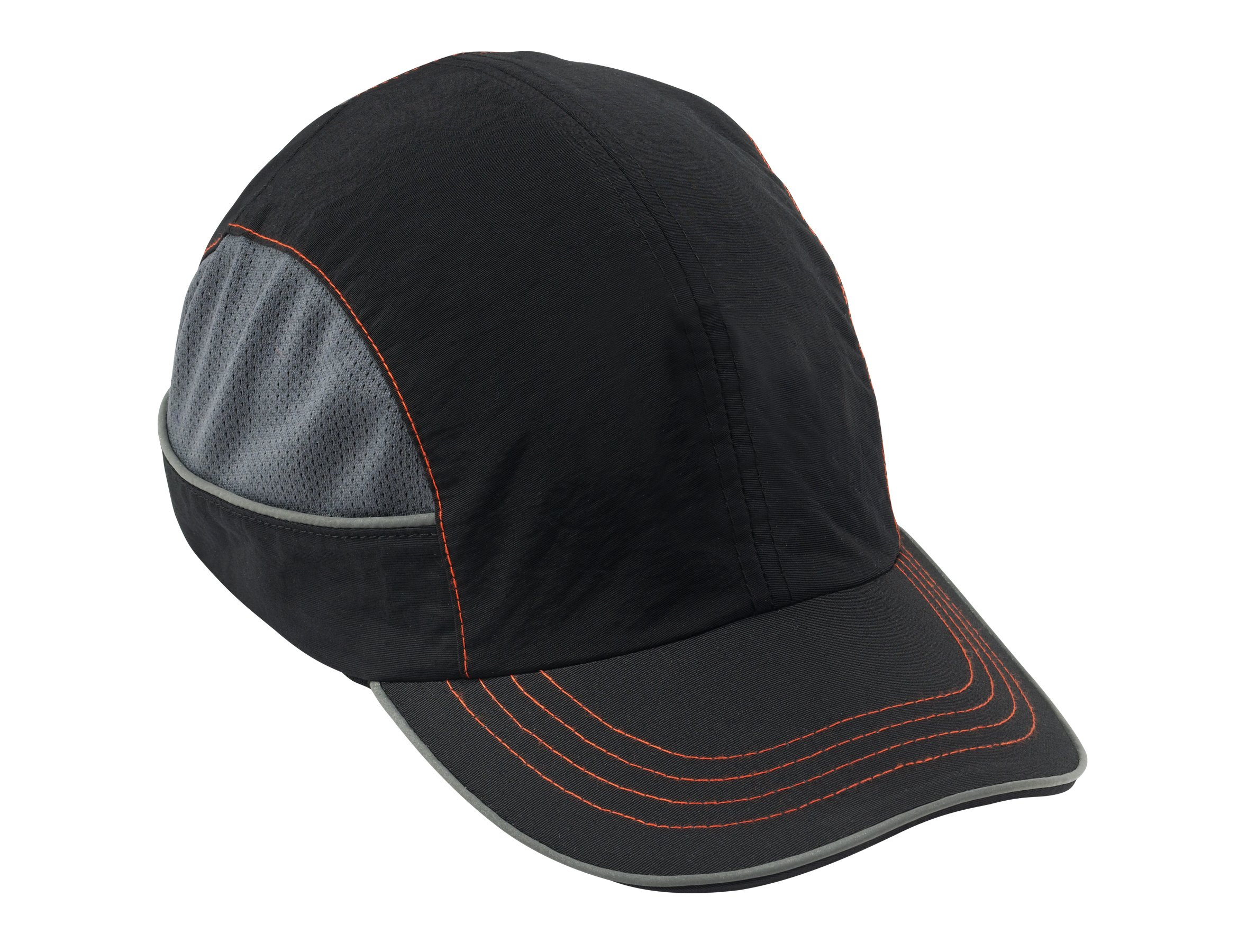 Safety Bump Cap, Baseball Hat Style, Breathable Head Protection, Long Brim, Skullerz 8950 by Ergodyne (Image #1)