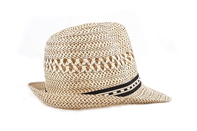 SoSh Beige Men and Women's Crown Shape Sun Hat for Women Hat