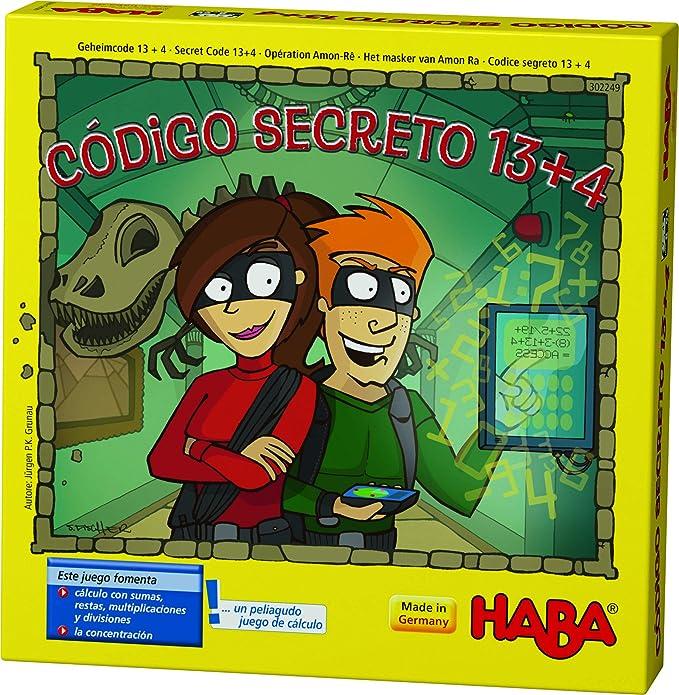 HABA- Código Secreto 13 + 4 Juego de Mesa, Multicolor (302249 ...