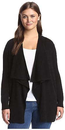 c054ce32a1 Amazon.com  Cashmere Addiction Women s Open Cashmere Cardigan