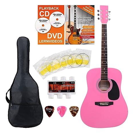 Classic Cantabile guitarra acústica set para principiantes incl ...