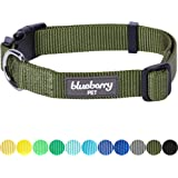 Blueberry Pet Classic Solid Color Dog Collar Collection - Regular Collars, Seatbelts, Personalized Collars and Bandana