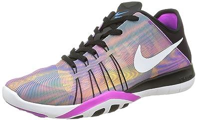 best service 3c66a 50ad6 ... Nike Women Free Tr 6 Prt Training Running Shoes, Multicolor (BlackHyper  Violet ...