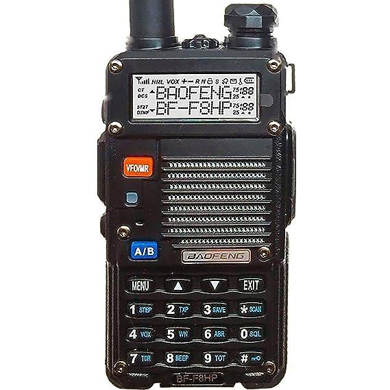 amazon com baofeng bf f8hp uv 5r 3rd gen 8 watt dual band two way