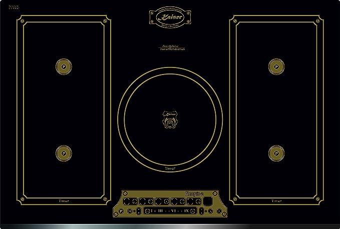 Novedad Kaiser Empire KCT 7795 fi EM Retro Inducción hobs 77 ...