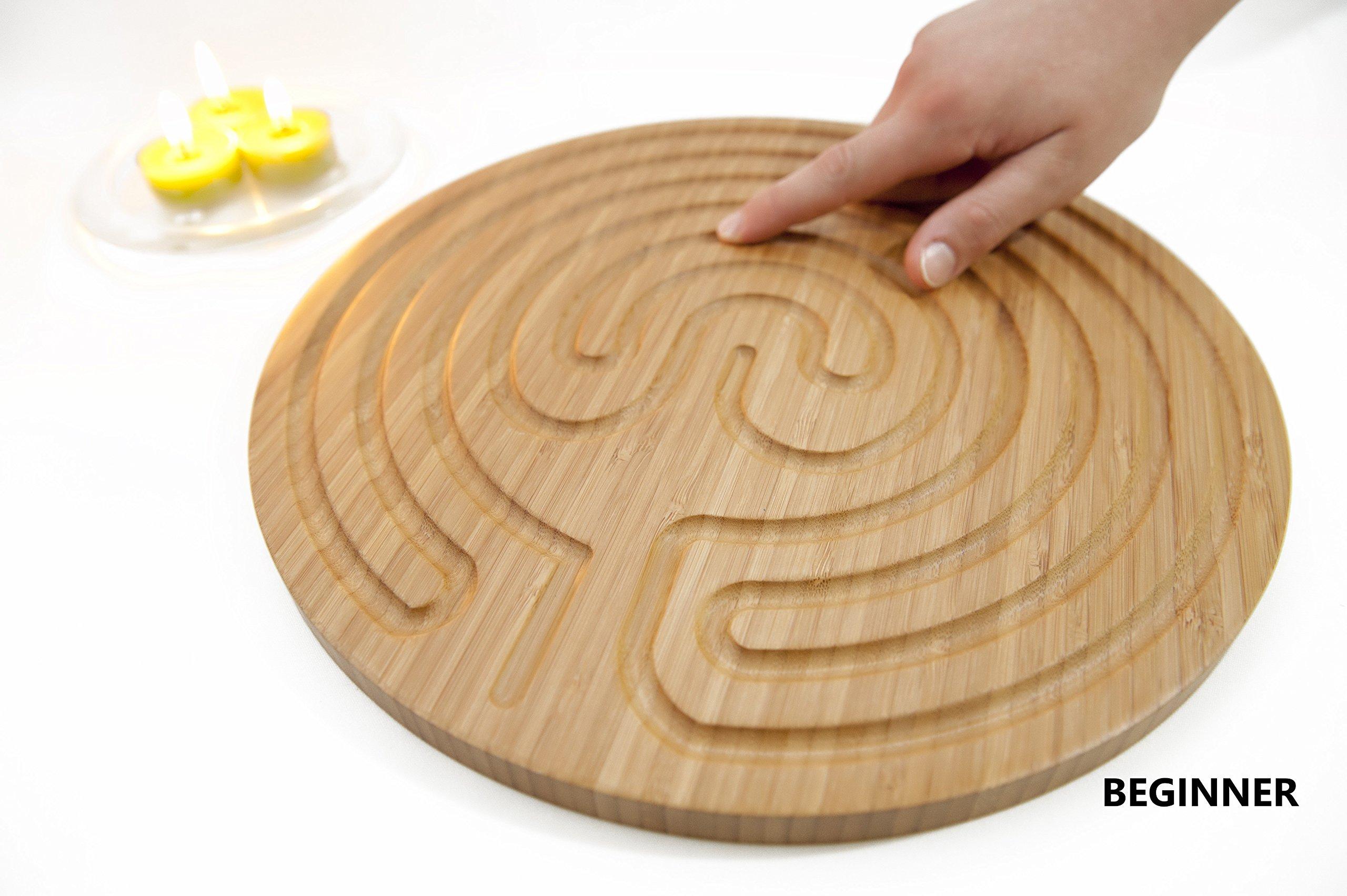 PerfectBambooSpoon Fine Motor Skills and Hand Eye Coordination. Fine Motor Skills Toys. Finger Toys for Brain Development. Bamboo Motor Skills and Brain Development Tool.