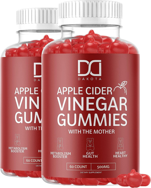 Dakota Organic Apple Cider Vinegar Gummies (2 Pack) $16.98 Coupon