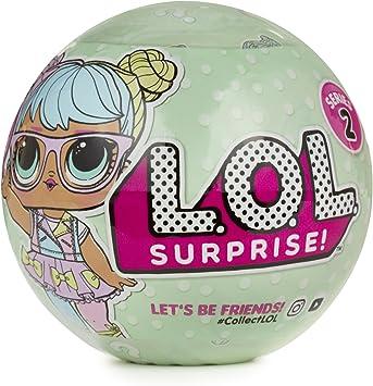 Amazon.es: L.O.L. Surprise! Tots Ball- Series 2-1A Multicolor muñeca - muñecas (Multicolor, Femenino, Chica, 3 año(s), 95, 3 mm, 95, 3 mm): Juguetes y juegos