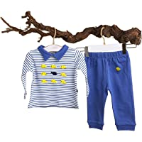 For My Baby Fish Polo Yaka Sweatshirt Ribanalı Tek