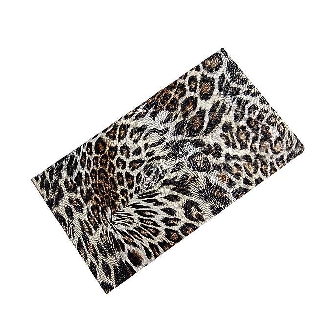 Allwon Paleta de maquillaje magnética de Paleta de maquillaje vacía de leopardo para lápiz labial Blush Sombra de ojos: Amazon.es: Belleza