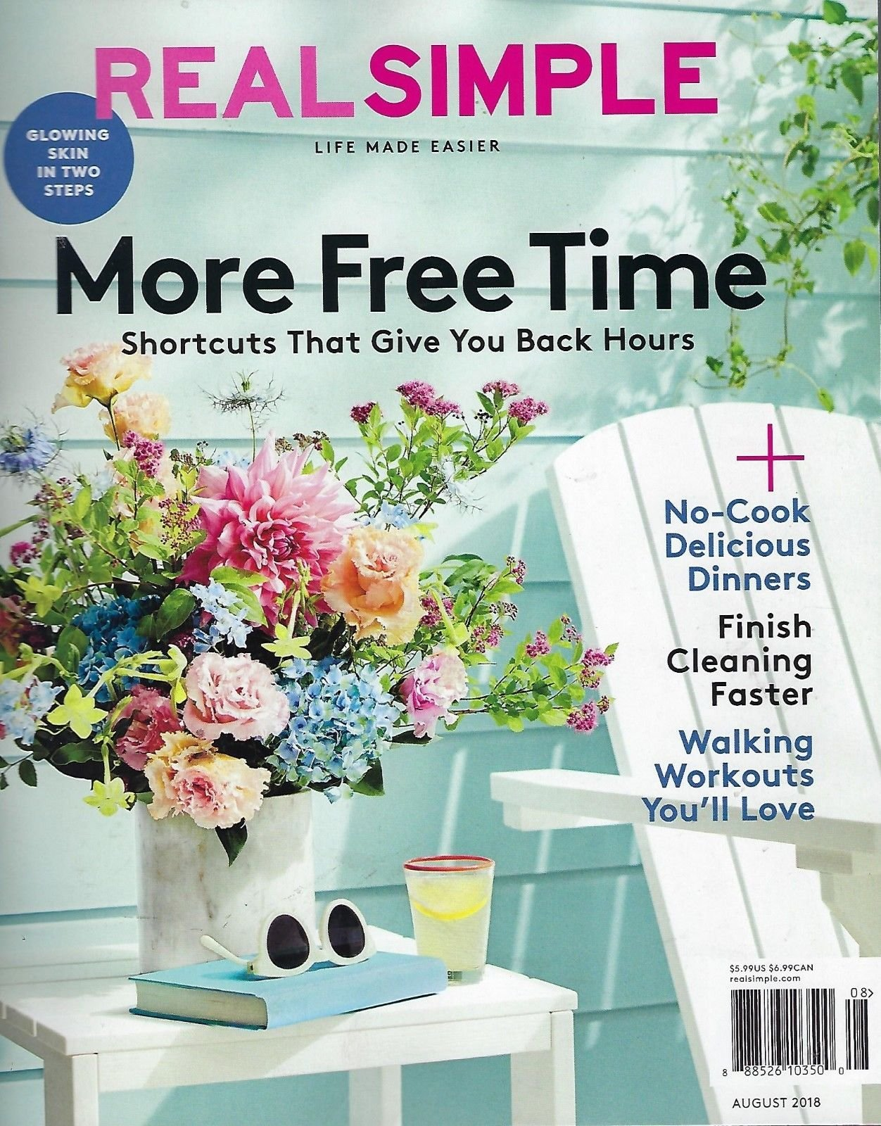 Download Real Simple Magazine ~ August 2018 ~ More Free Time pdf epub