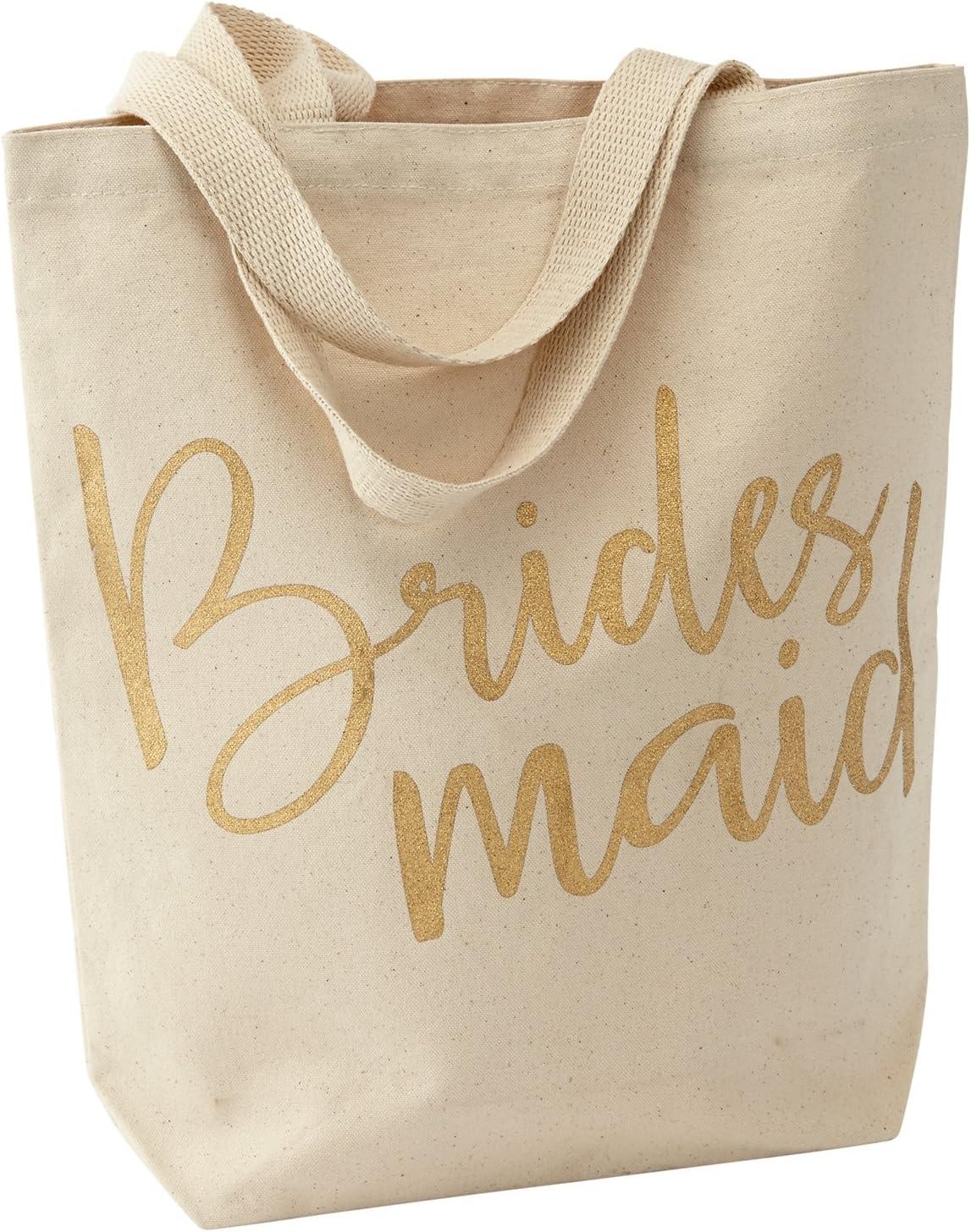 Bridesmaid Mud Pie Wedding Canvas Tote Bag